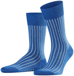 Falke Shadow Sok Sokken Paris Blue