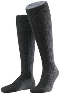 Falke Teppich im Schuh Kniekous Knee-Highs Anthracite Grey