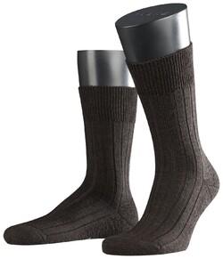 Falke Teppich im Schuh Sokken Donker Bruin