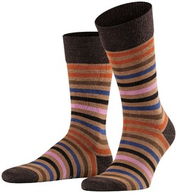Falke Tinted Stripe Sokken Canvas