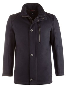 Pierre Cardin Gore Tex Wool Jacket Navy