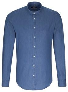 Seidensticker Uni Extra Slim Pastel Blauw