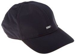 Paul & Shark Metal Shark Shield Plain Cap Navy