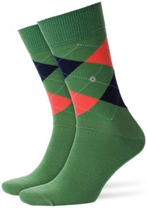 Burlington King Socks Clover