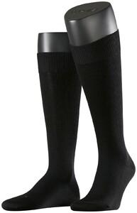 Falke Energizing Wool Kniekousen Zwart