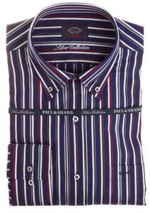 Paul & Shark Silver Collection Luxury Stripe Blauw