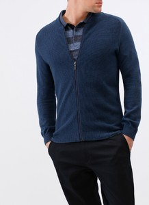Maerz Uni Zipper Vest Nimes Blue