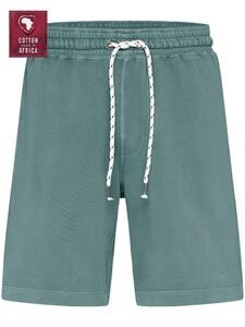 Fynch-Hatton Bermuda Cotton made in Africa Nachtmode Lindgreen