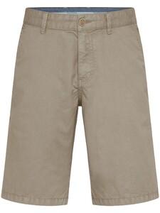 Fynch-Hatton Bermuda Shorts Cotton Garment Dyed Bermuda Beige