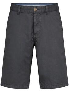 Fynch-Hatton Bermuda Shorts Cotton Garment Dyed Bermuda Charcoal