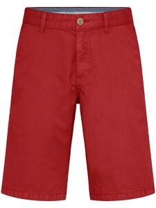 Fynch-Hatton Bermuda Shorts Cotton Garment Dyed Bermuda Chili