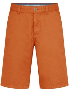 Fynch-Hatton Bermuda Shorts Cotton Garment Dyed Bermuda Flame