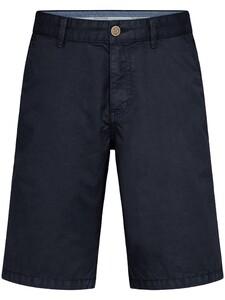 Fynch-Hatton Bermuda Shorts Cotton Garment Dyed Bermuda Navy