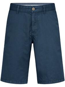 Fynch-Hatton Bermuda Shorts Cotton Garment Dyed Bermuda Night