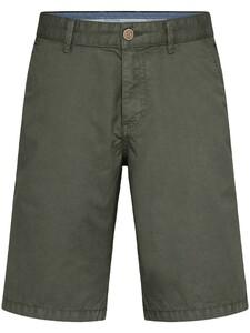Fynch-Hatton Bermuda Shorts Cotton Garment Dyed Bermuda Olive