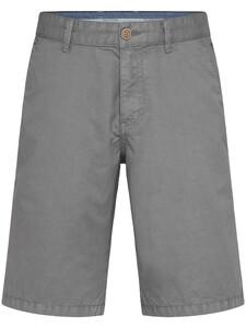Fynch-Hatton Bermuda Shorts Cotton Garment Dyed Bermuda Steel