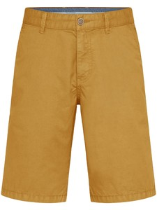 Fynch-Hatton Bermuda Shorts Cotton Garment Dyed Bermuda Sunlight