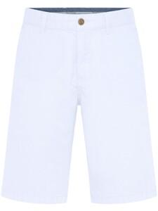 Fynch-Hatton Bermuda Shorts Cotton Garment Dyed Bermuda Wit
