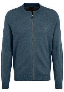 Fynch-Hatton Cardigan Zip Merino Cashmere Vest Diesel