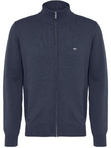 Fynch-Hatton Cardigan Zip Uni Vest Night