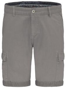 Fynch-Hatton Cargo Bermuda Garment Dyed Bermuda Cool Grey