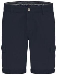 Fynch-Hatton Cargo Bermuda Garment Dyed Bermuda Navy