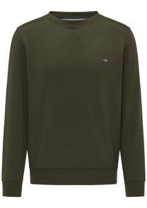 Fynch-Hatton Casual O-Neck Trui Pesto