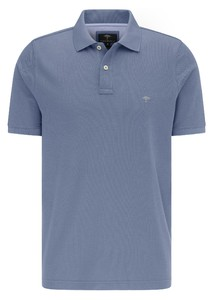 Fynch-Hatton Cotton Uni Polo Polo Ice Blue
