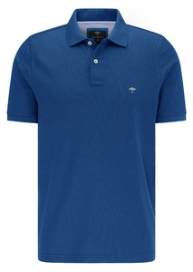 Fynch-Hatton Cotton Uni Polo Polo Royal