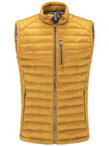 Fynch-Hatton Downtouch Vest Lightweight Body-Warmer Mosterd