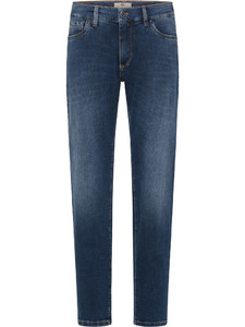 Fynch-Hatton Durban All-Season Denim Jeans Blauw