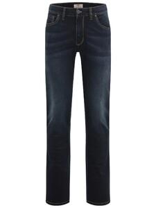 Fynch-Hatton Durban All-Season Denim Jeans Midden Blauw