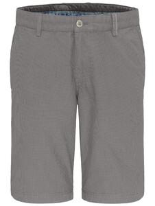 Fynch-Hatton Fine Pattern Garment Dyed Bermuda Cool Grey