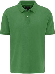 Fynch-Hatton Garment Dyed Uni Polo Cactus