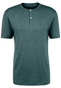 Fynch-Hatton Henley Shirt Linnen T-Shirt Diesel