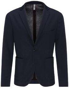 Fynch-Hatton Jersey Doubleface Blazer Blazer Navy
