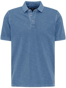 Fynch-Hatton Jersey Garment Dyed Polo Pacific