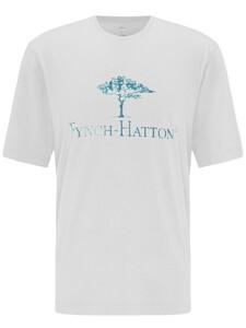 Fynch-Hatton Logo T-Shirt T-Shirt Wit