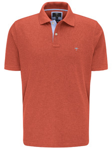 Fynch-Hatton Melange Uni Poloshirt Watermelon