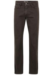 Fynch-Hatton Mombasa 5-Pocket Pigment Dyed Pants Arabica