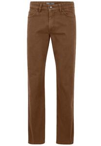 Fynch-Hatton Mombasa 5-Pocket Pigment Dyed Pants Camel