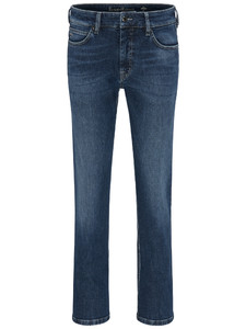 Fynch-Hatton Mombasa All-Season Authentic Denim Jeans Midden Blauw