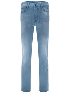 Fynch-Hatton Mombasa High Flex Denim Jeans Licht Blauw