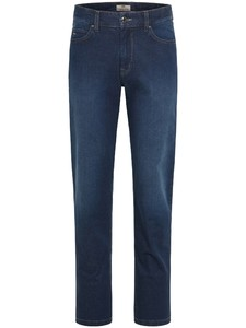 Fynch-Hatton Mombasa Summer Denim Jeans Donker Blauw