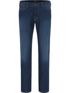 Fynch-Hatton Mombasa Summer Denim Jeans Midden Blauw