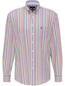 Fynch-Hatton Multicolor Stripe Overhemd Multicolor
