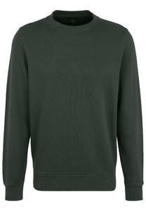 Fynch-Hatton O-Neck Cotton made in Africa CmiA Pullover Emerald