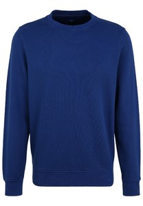 Fynch-Hatton O-Neck Cotton made in Africa CmiA Pullover Ink