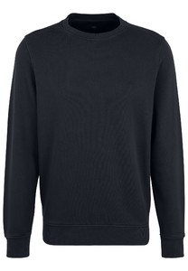 Fynch-Hatton O-Neck Cotton made in Africa CmiA Pullover Navy