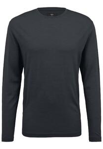 Fynch-Hatton O-Neck Longsleeve Merino T-Shirt Anthra